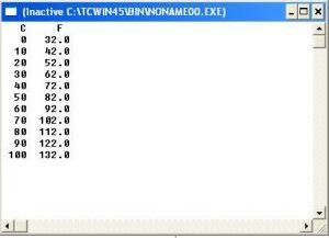 contoh program sederhana perulangan do while