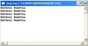 contoh program sederhana perulangan for secara decrement