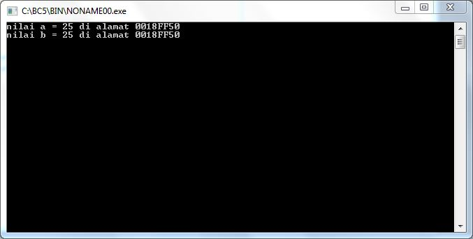 output-program-menggunakan-pointer-2