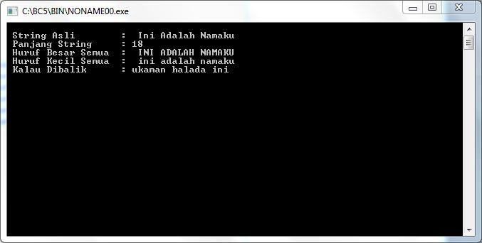 output-program-menggunakan-string