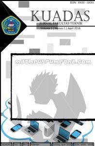 desain cover Jurnal Kuadas FILKOM Unvic Sorong ukuran A4